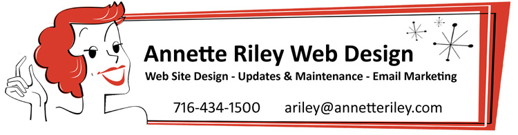 Annette Riley Web Design and Maintenance